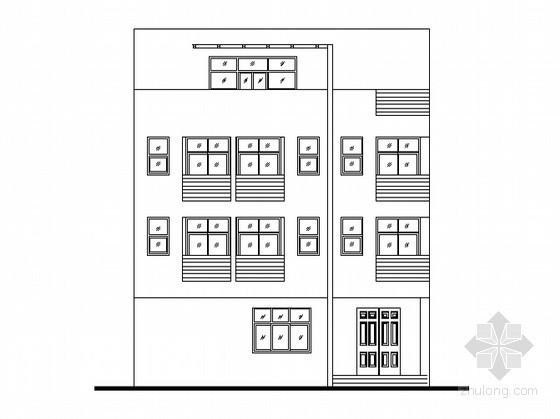 某四层私人别墅建筑施工图(带效果图)