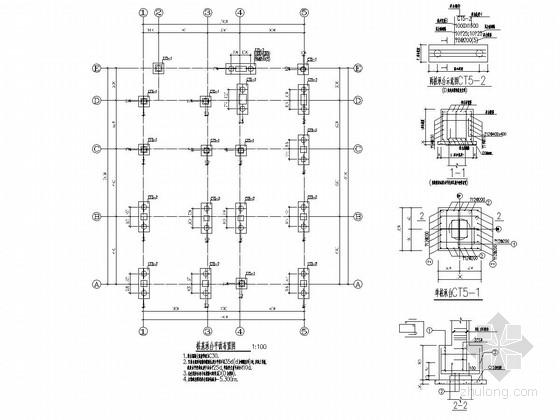 [安徽]地上三层框架结构幼儿园结构施工图