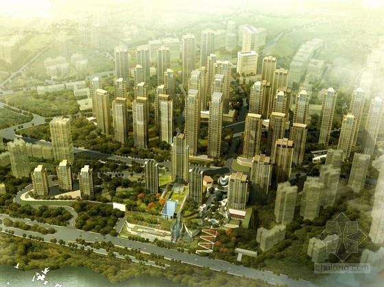 [重庆]超高层artdeco风格住宅区规划及单体设计方案文本(知名事务所)