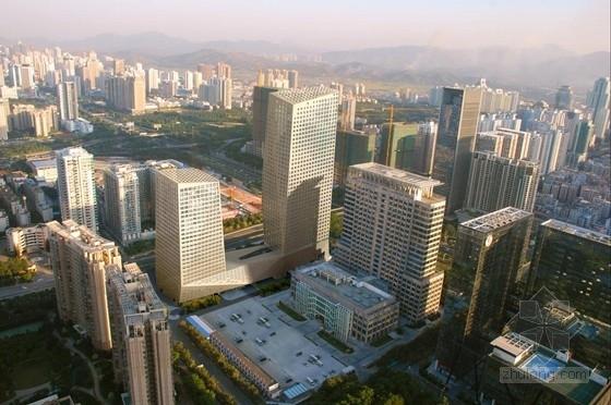 [深圳]大尺度折面企业塔楼办公楼建筑设计方案文本(含多媒体及CAD)