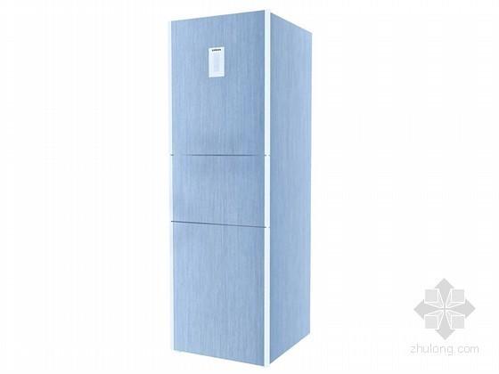 三门冰箱3D模型下载