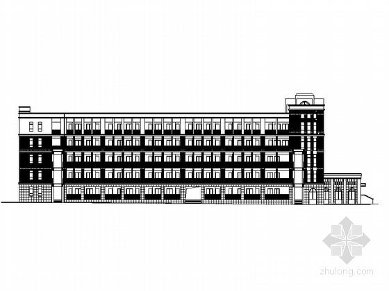 [浙江]综合性职教中心校园规划及单体建筑设计施工图(知名设计院 含效果图)