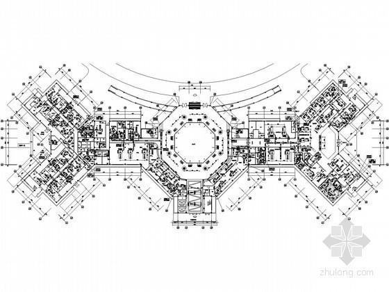 [福建]大型综合医院暖通空调设计全套施工图102张(含洁净)