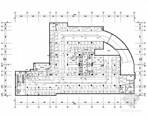 [四川]一类高层办公建筑全套电气施工图纸136张(水暖电)