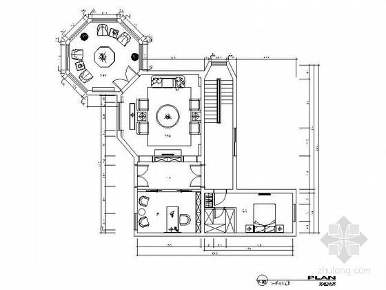 [南京]双层别墅室内装修图