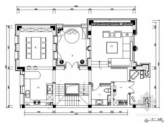 [杭州]摩登风格550平四层别墅室内装修图(含实景)