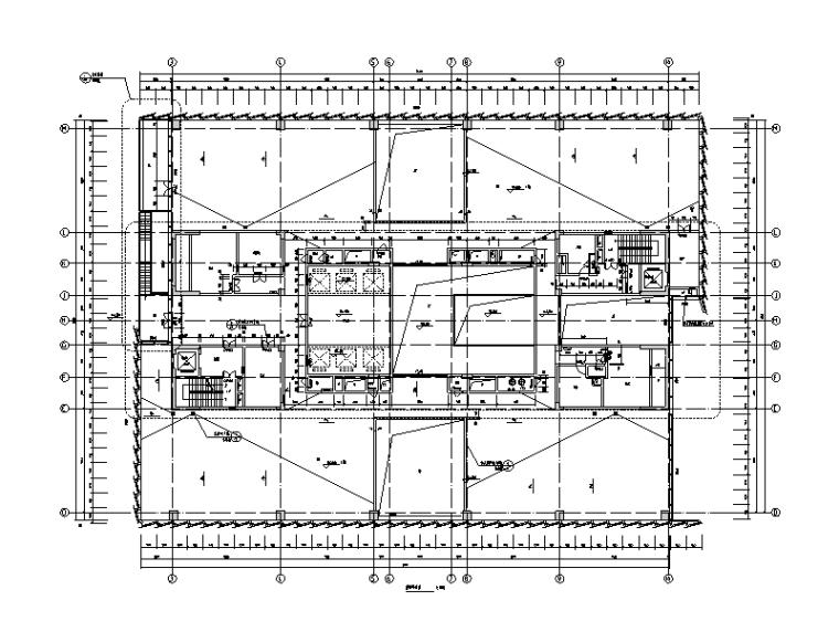 [深圳]33层超高层办公楼建筑结构施工图(人防地下室、超限报告及计算书)
