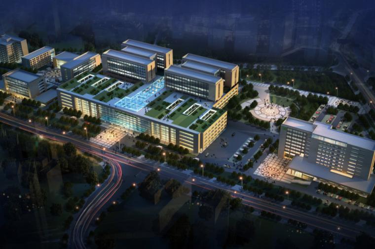 江南医院建筑设计方案文本+CAD