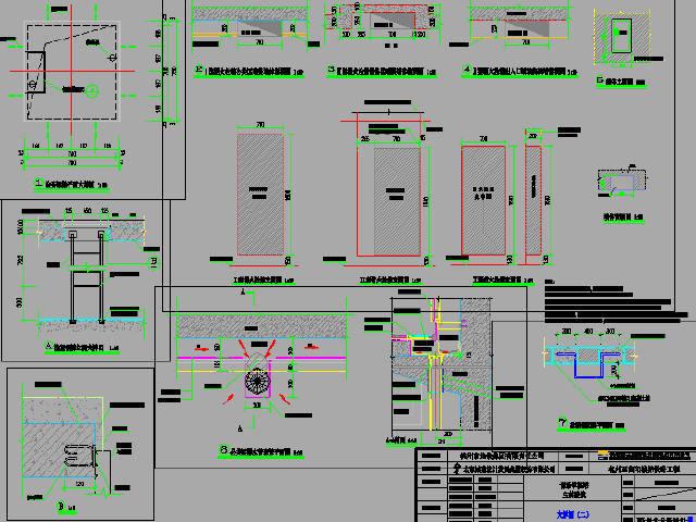 城际铁路钻孔咬合桩作围护结构地下双层岛式车站设计图298张CAD