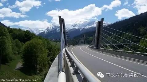 Sunniberg 一座完美的矮塔斜拉桥