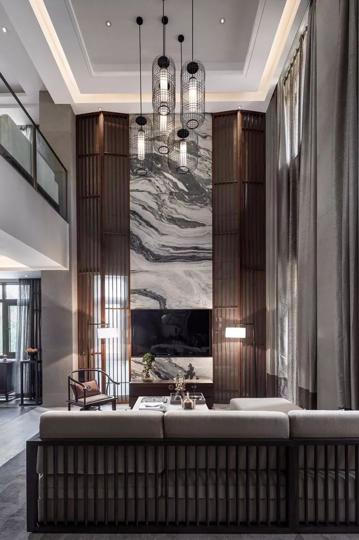 280m²新中式别墅,演绎东方极致美学!_5