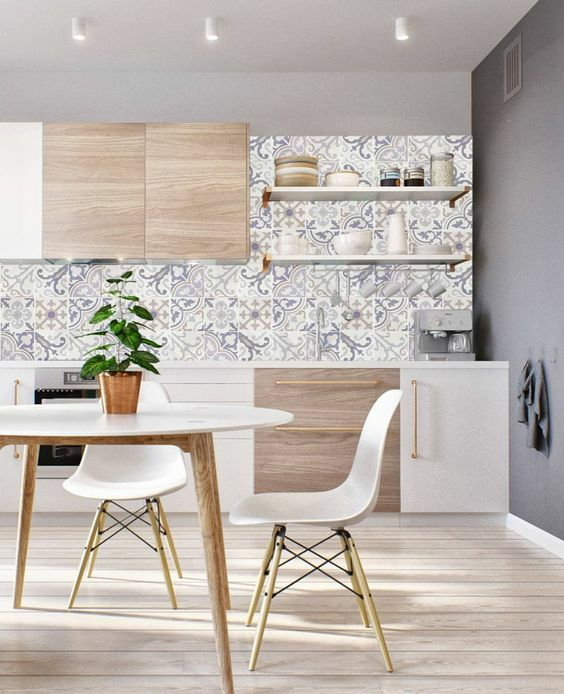 2019流行的花式厨房瓷砖,你都选对了吗?_3