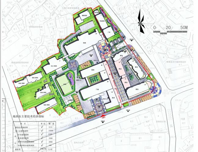 [湖南]高层现代风格常规项人民医院建筑设计方案文本(CAD+文本)_6
