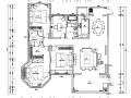 [江苏]素白风住宅装修设计施工图(附效果图)