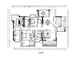 东南亚风格样板房设计CAD施工图(含效果图)
