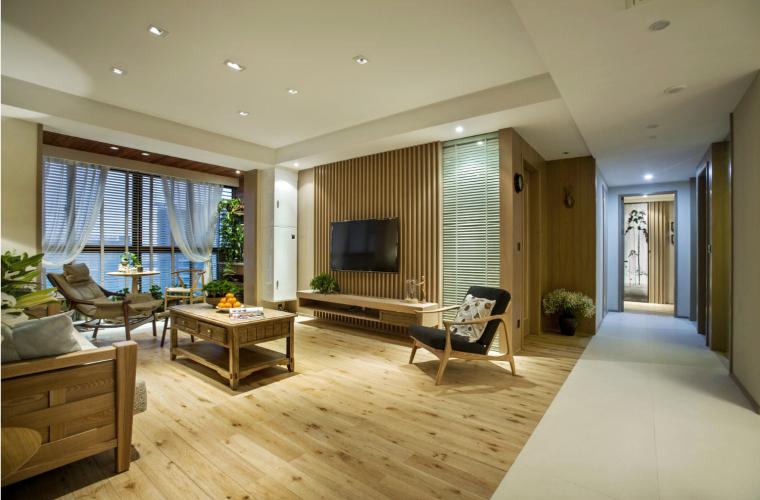 宁波木材质世贸湾公寓-7