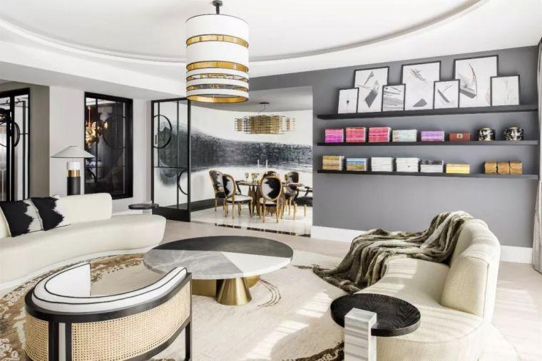 跃层都市公寓融入4种风格后,竟然如此惊艳!_11