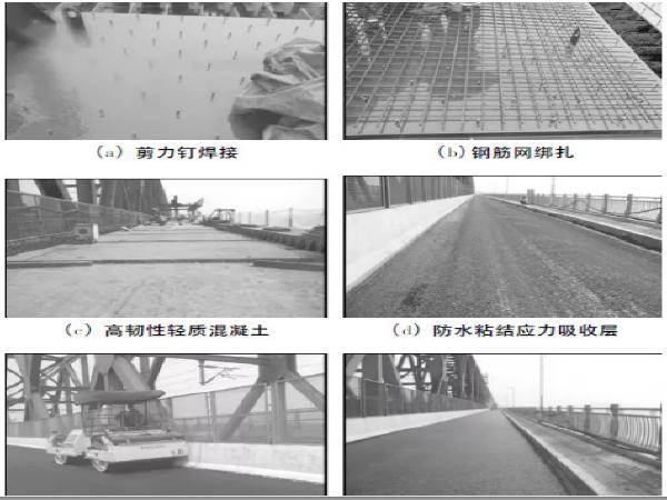 钢桥面铺装层组合结构性能研