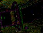 径流引水式电站大坝工程施工图
