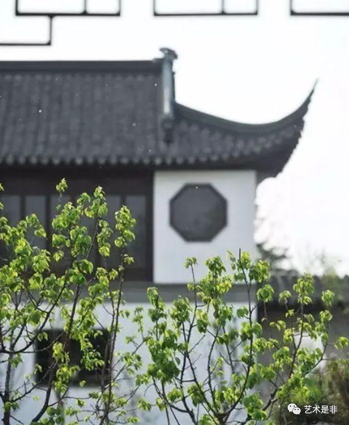 中式院子,一砖一瓦都极具讲究,真是美到骨子里!
