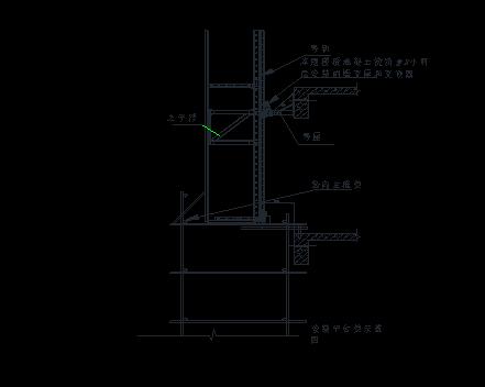 高层建筑全钢附着式升降脚手架(爬架)施工方案-平台搭设