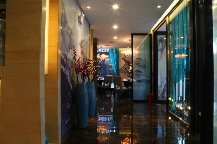 [特色餐厅设计]大连粤食粤点餐厅项目设计实景照片震撼来袭-2.JPG