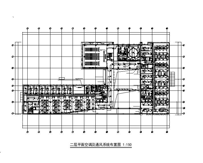 上海五层办公楼暖通空调设计施工图