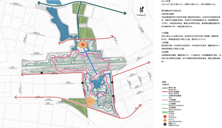 [湖北]武汉园博会景观规划设计方案文本-[湖北]武汉园博会景观规划设计文本 B-3 园路分析