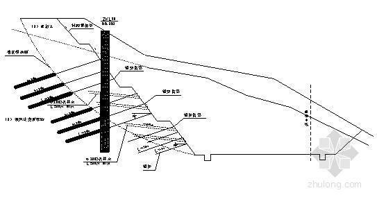 抗滑桩边坡锚喷支护资料下载-边坡支护施工组织设计Word版(共96页)