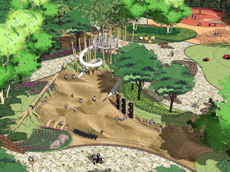 [河北]固安海德公园景观概念方案设计