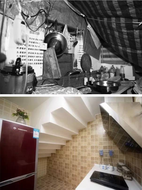 30平破旧出租屋神逆袭,打造5口之家的温馨公寓_11