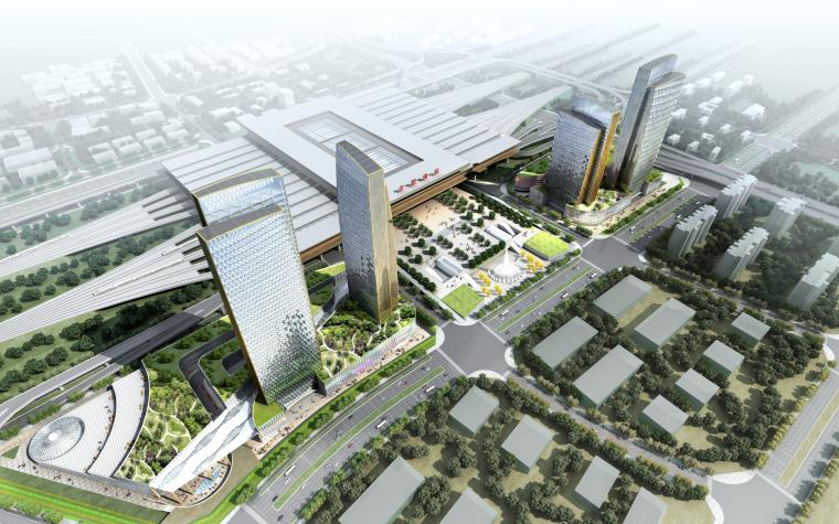 [安徽]超高层甲级办公楼城市综合体设计方案文本PDF(UA国际)