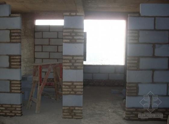 框剪结构高层住宅楼砌体工程施工方案