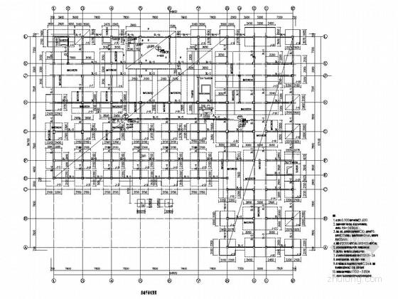 [辽宁]地上五层框架结构医院扩建工程结构施工图