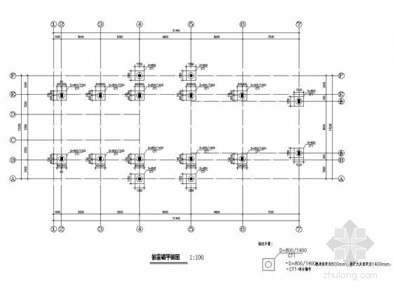 [江西]地上二层框架结构会所结构施工图