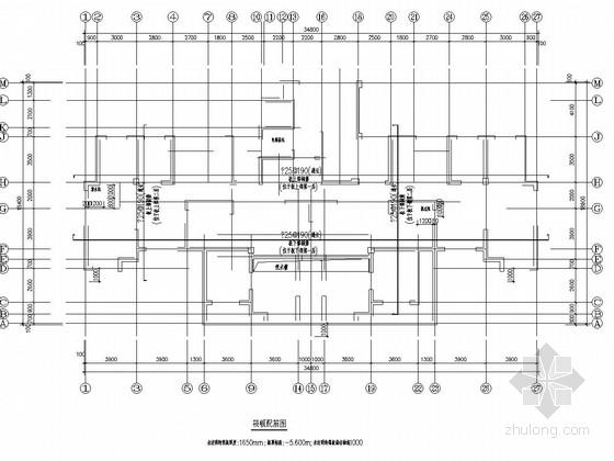 [阜阳]33层剪力墙结构高层住宅楼结构施工图(平板式桩筏基础)