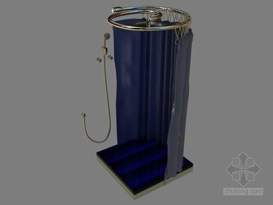 简洁浴室3D模型下载