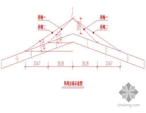 某羽毛球馆钢屋架吊装专项施工方案
