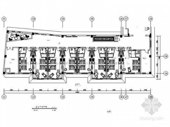 [山西]垃圾焚烧发电厂内现代风格公寓楼室内装修施工图