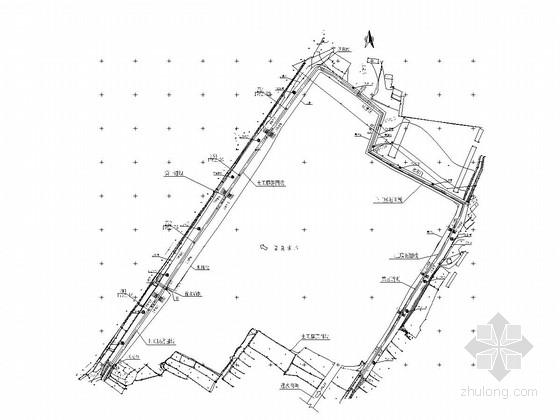 [云南]大坝土工膜防渗工程施工图(土石坝)