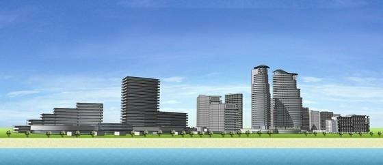 [海南]海景公寓景观初期概念规划深化设计-立面图