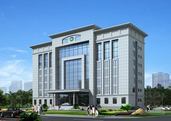 4层砖混结构办公楼建筑工程量计算