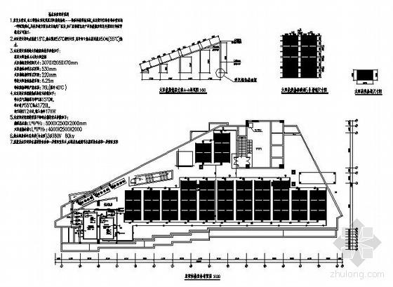 某学生宿舍楼太阳能加热泵热水施工图