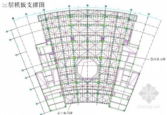 [江苏]旅游文化酒店高支模施工专项方案(著名国企施工单位,2014年)