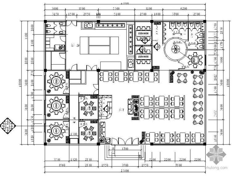[学生作品]餐饮空间设计图