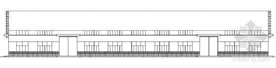 某单层戊类厂房建筑方案图