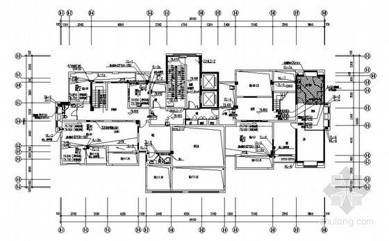 [福建]高层住宅小区给排水施工图