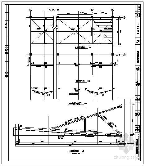 悬挑10m钢结构雨篷详图