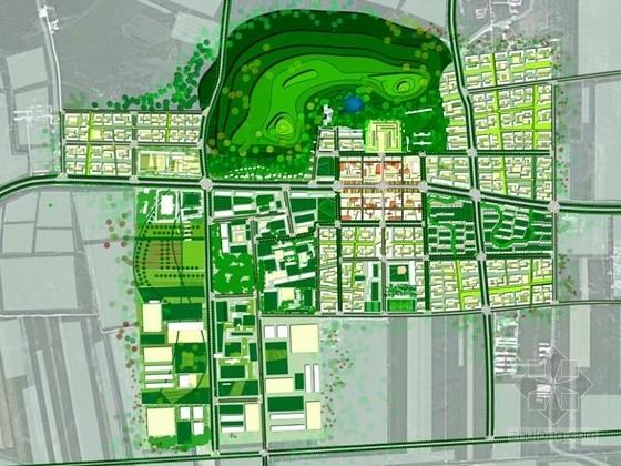 [黑龙江]绿色生态农场及城市景观概念性总体规划