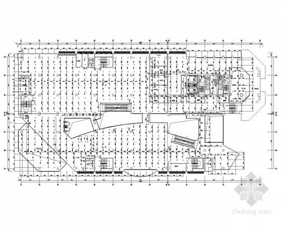 综合百货大楼给排水施工图(商场、电影院、餐厅、办公)